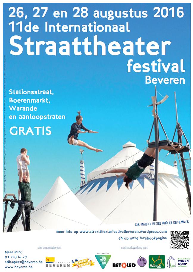 Straattheater Beverse Feesten