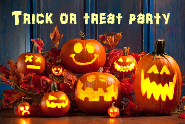 Trick Or Treat Party – 29 oktober